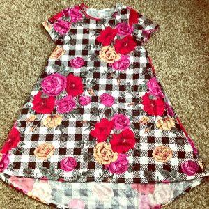 LuLaRoe Buffalo Check Carly Dress